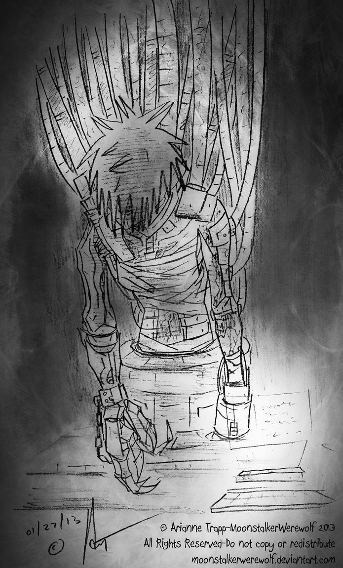 Dark Sleep by MoonstalkerWerewolf