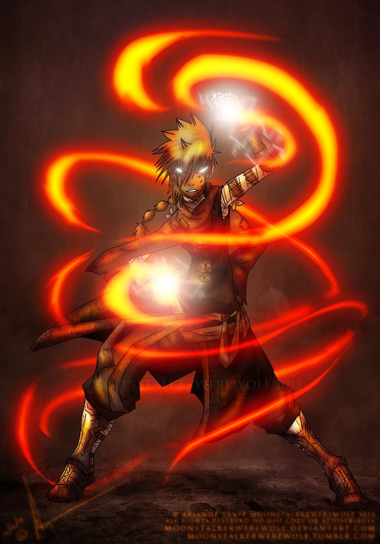 Kyana Vaike by MoonstalkerWerewolf