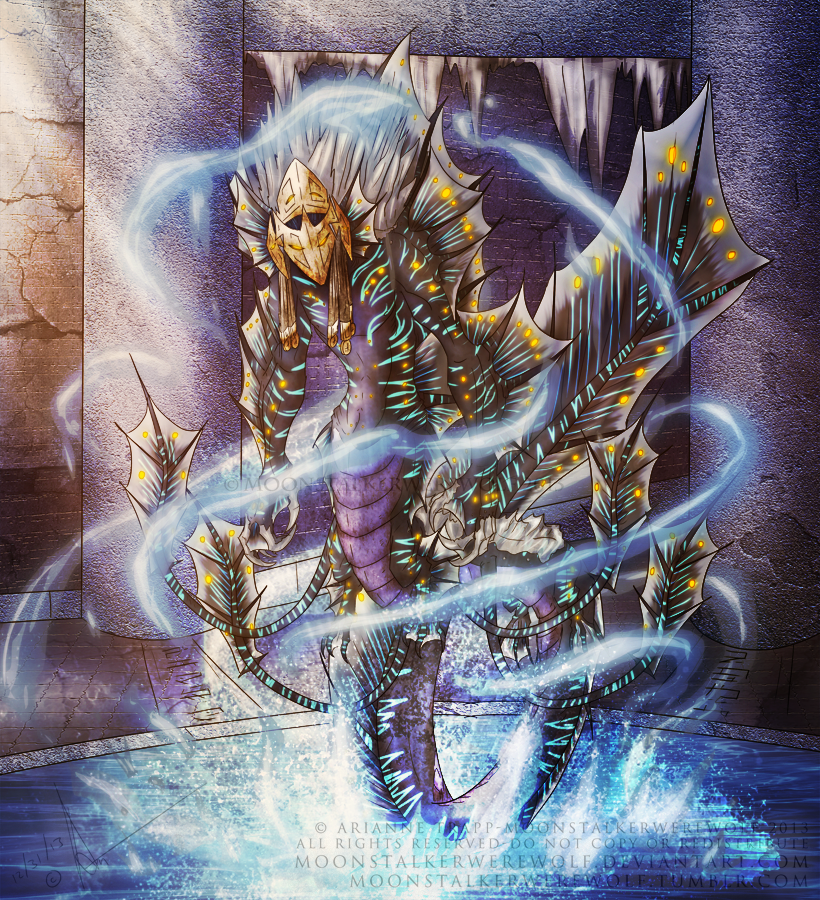 Aecocuratrix by MoonstalkerWerewolf