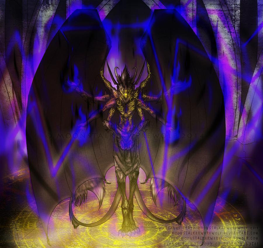 Atercuratrix by MoonstalkerWerewolf