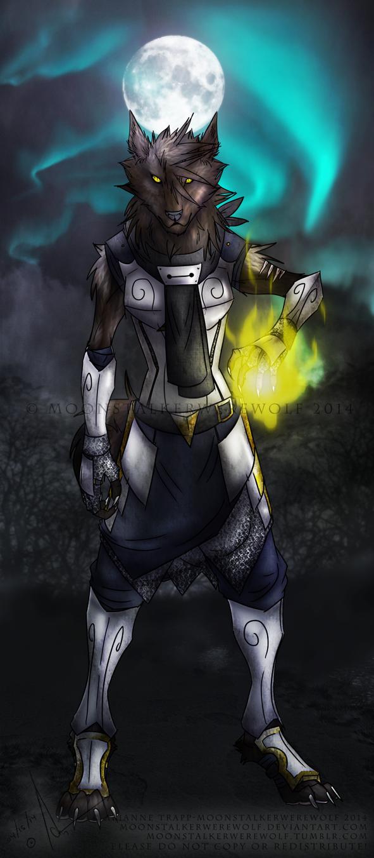 Moonlight Wolf by MoonstalkerWerewolf
