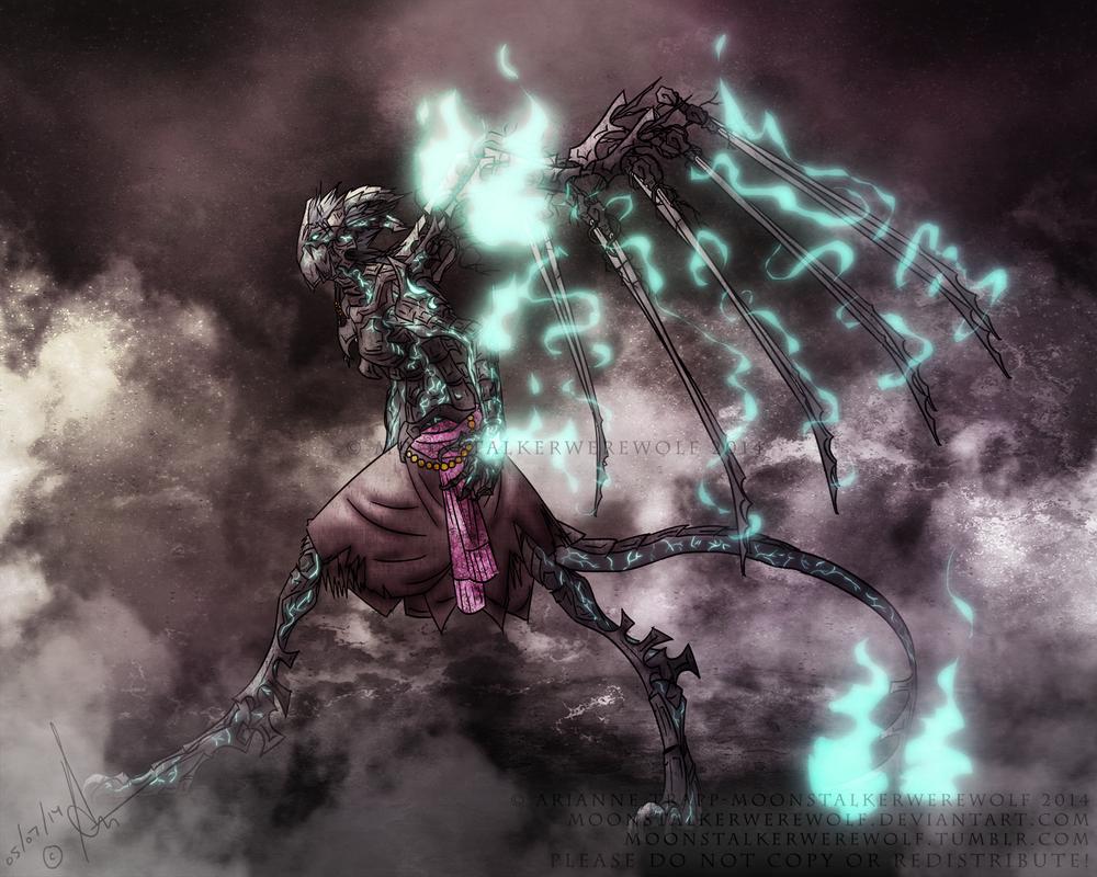 Senka A'ar Kako'loa Concept by MoonstalkerWerewolf