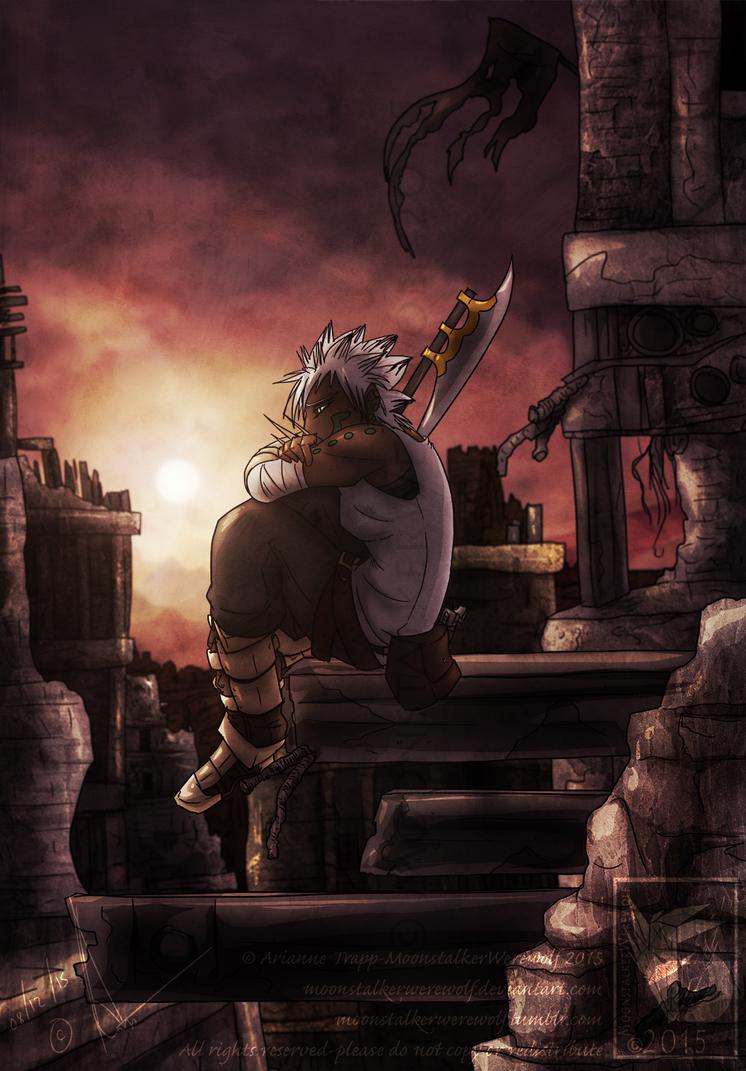 New Dawn by MoonstalkerWerewolf