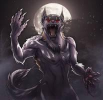 Nightwolf by MoonstalkerWerewolf