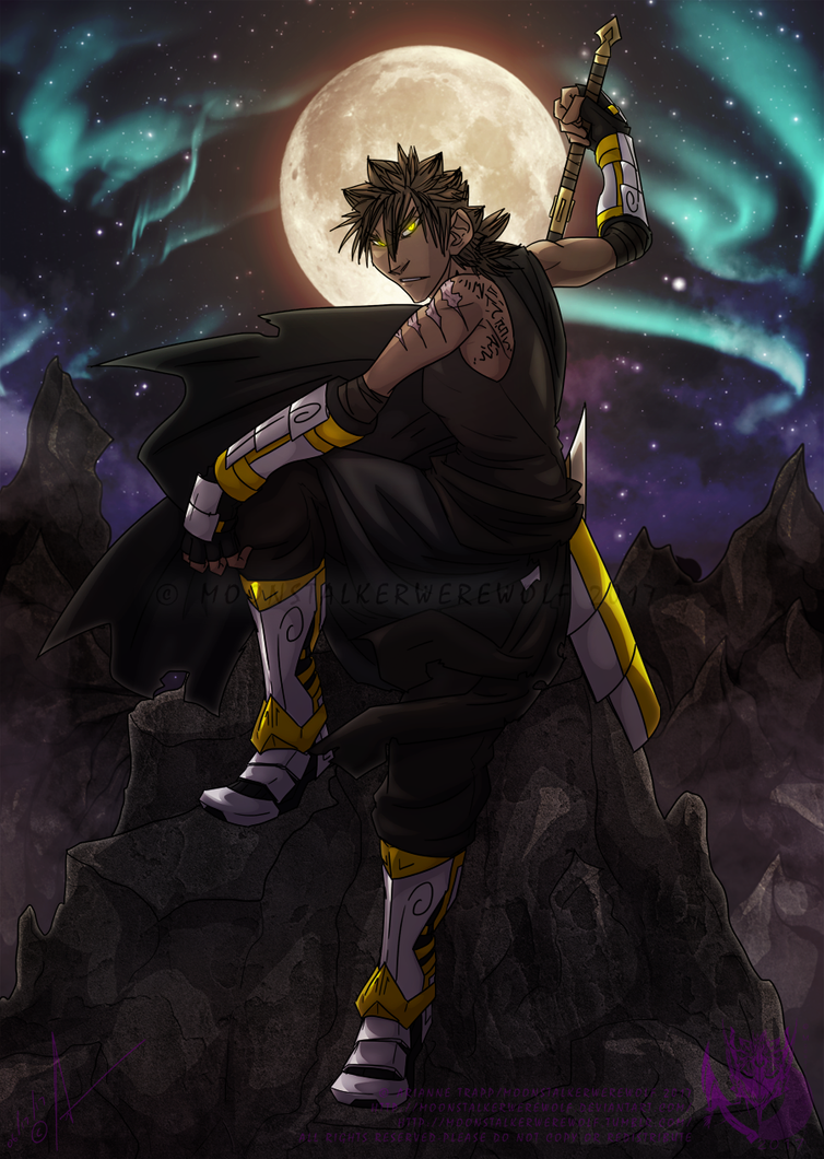 Moonlight Guardian by MoonstalkerWerewolf
