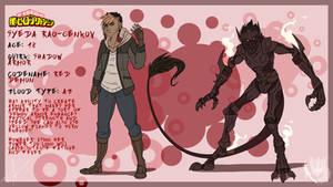 BNHA Fancharacter: Syeda Rao-Genkov (Red Demon)