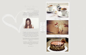 tumblr theme design made by me