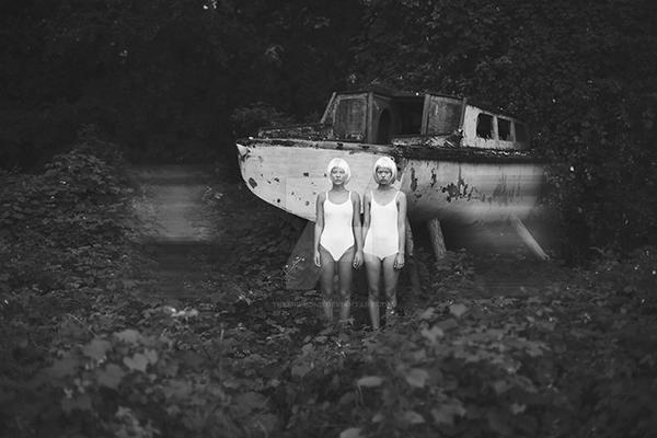 Twins and ghosts by thefirebomb