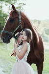 Horse and a girl