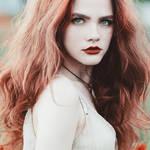 Beauty redhead