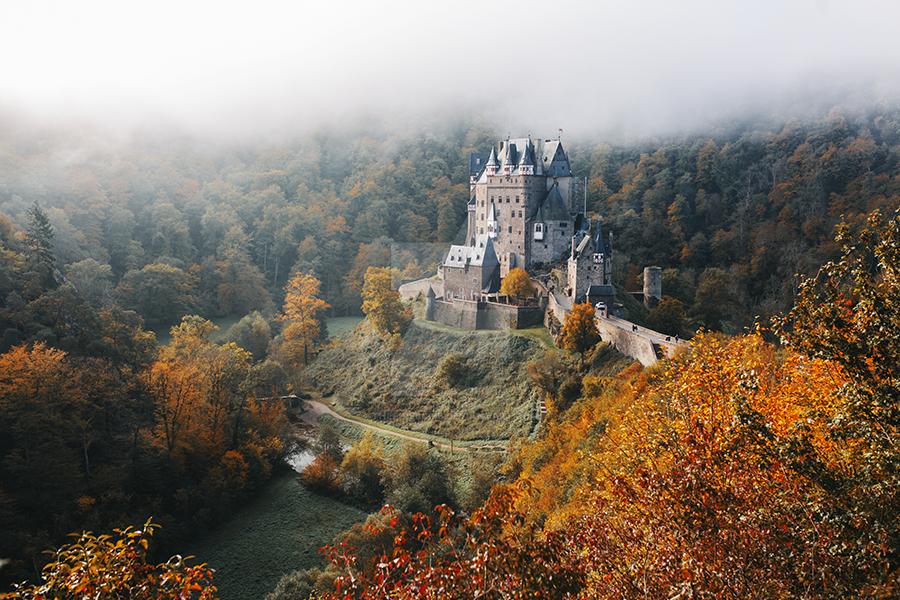 Magic autumn by thefirebomb