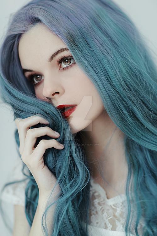 Pastel blue by thefirebomb
