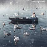 Swan Girl by thefirebomb
