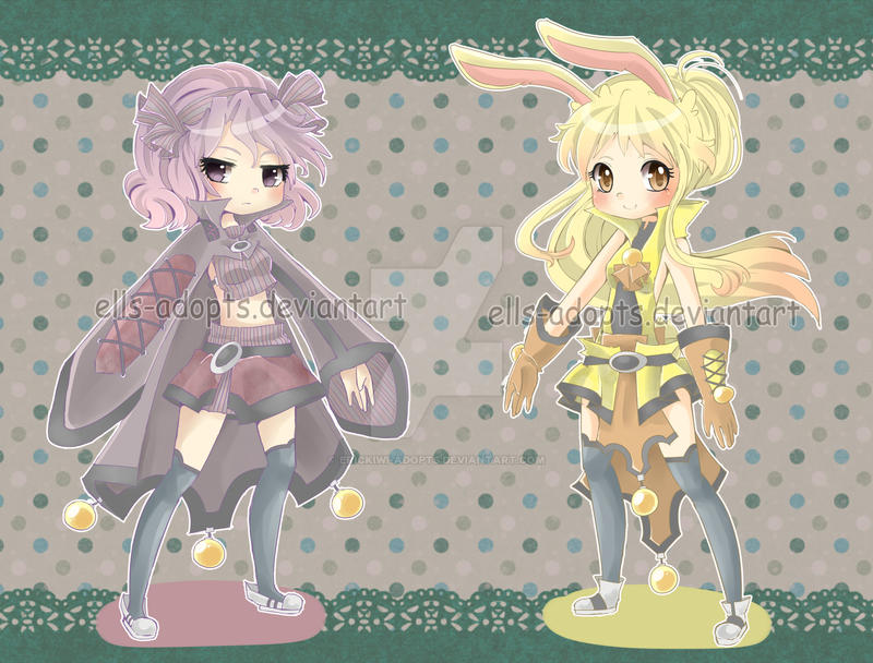 CLOSED Adoptables 2 by Erickiwi-adopts