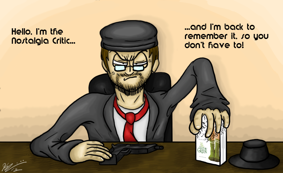 Nostalgia Critic - I'm Back to Remember it by KCampbell499