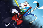 Finn and Marceline (Adventure Time)