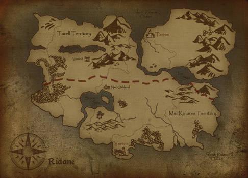 Map of Ridane