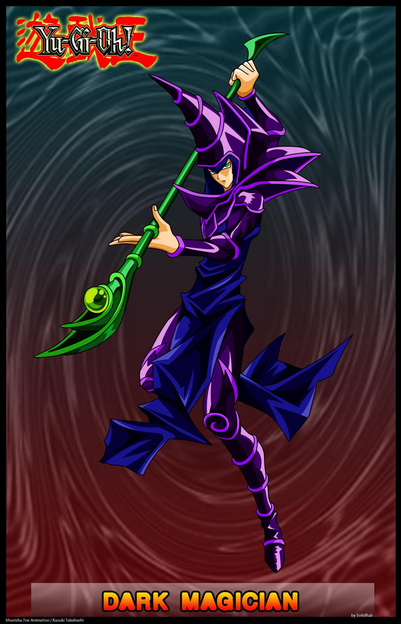 Dark Magician by solidrub on DeviantArt