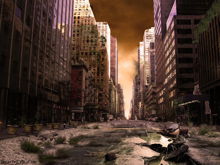 Quarantaine in NY by CreativeVolution