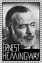 Ernest Hemingway Stamp by ForgetfulRainn