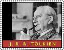 J.R.R. Tolkien Stamp by ForgetfulRainn