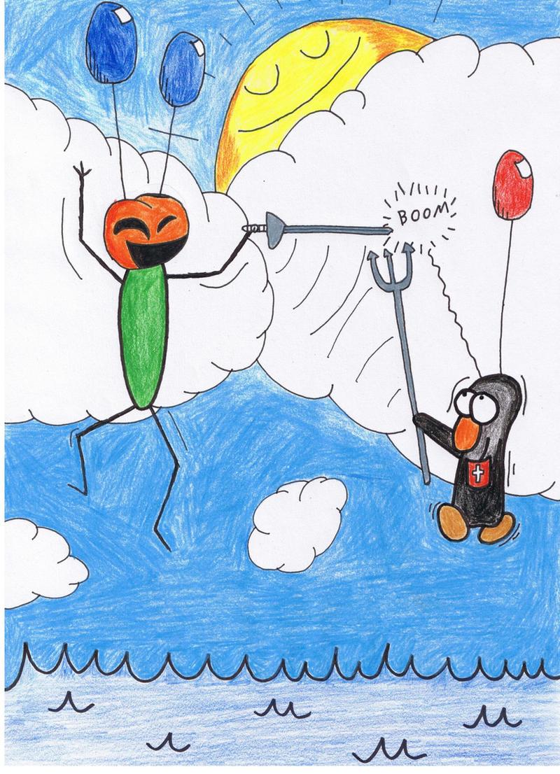 Antarctica Asylum - Balloons by ForgetfulRainn