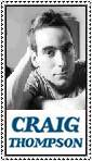 Craig Thompson Stamp by ForgetfulRainn