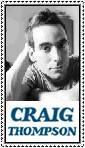 Craig Thompson Stamp by ForgetfulRainn