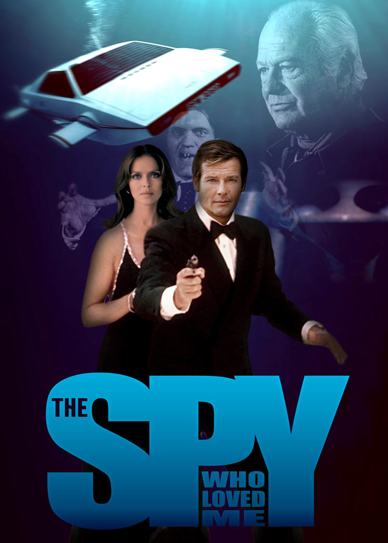 The Spy Who Loved Me Poster by comandercool22 on DeviantArt