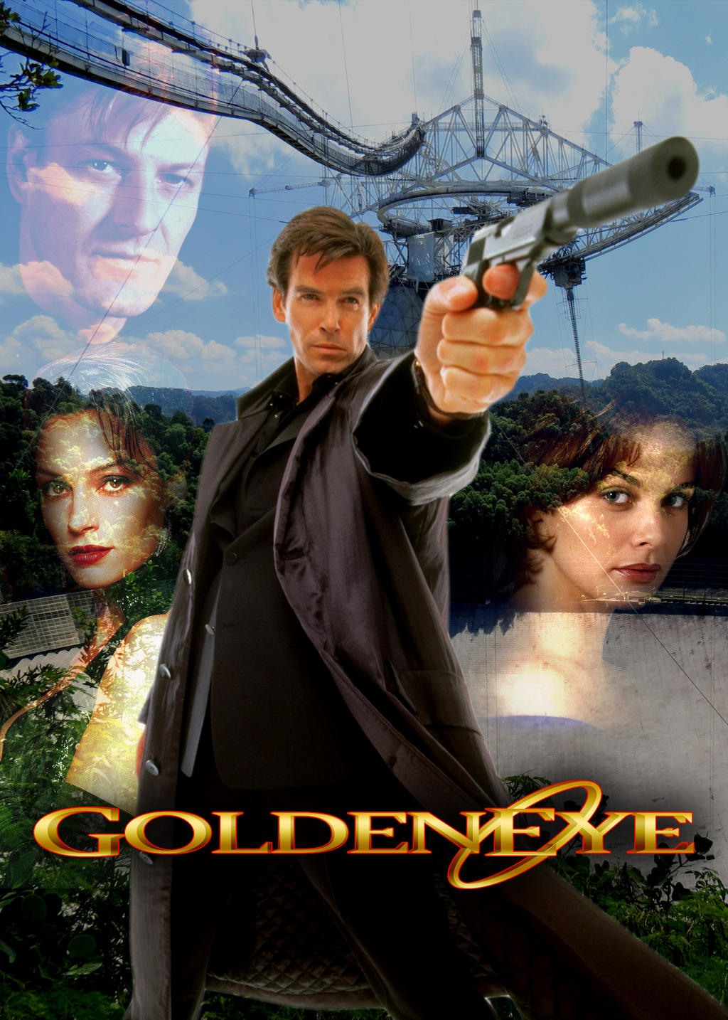 movies tv 2013 2015 comandercool22 poster for my favorite bond movieGoldeneye Movie Poster