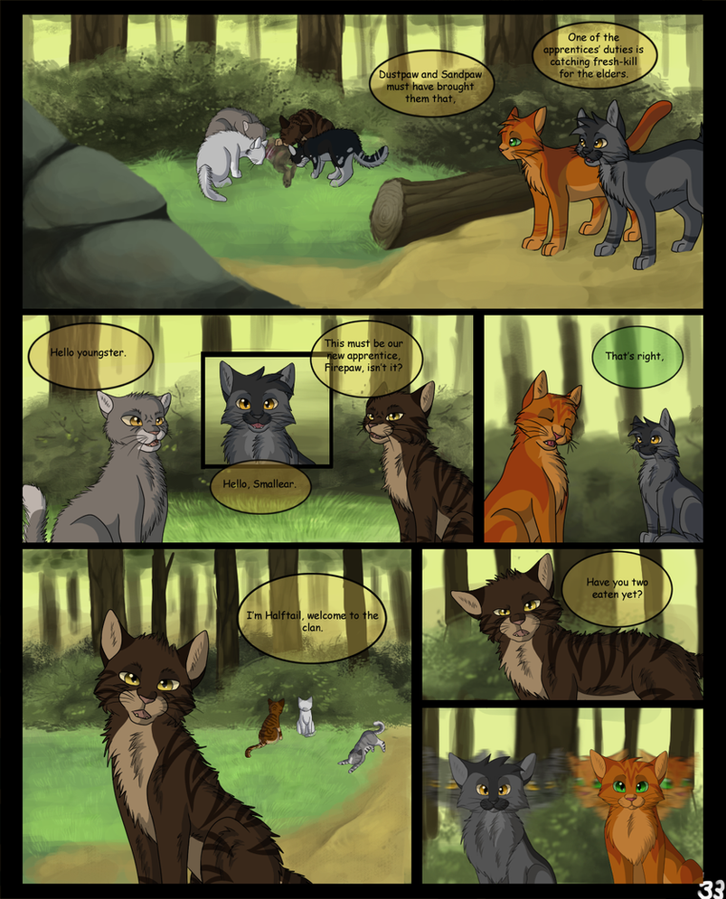 Warriors Into The Wild Page 33 By SassyHeart On DeviantArt