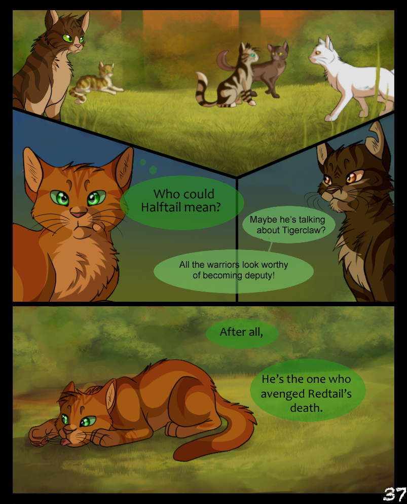 Warriors Into The Wild Online: Page: 37 By SassyHeart On DeviantArt