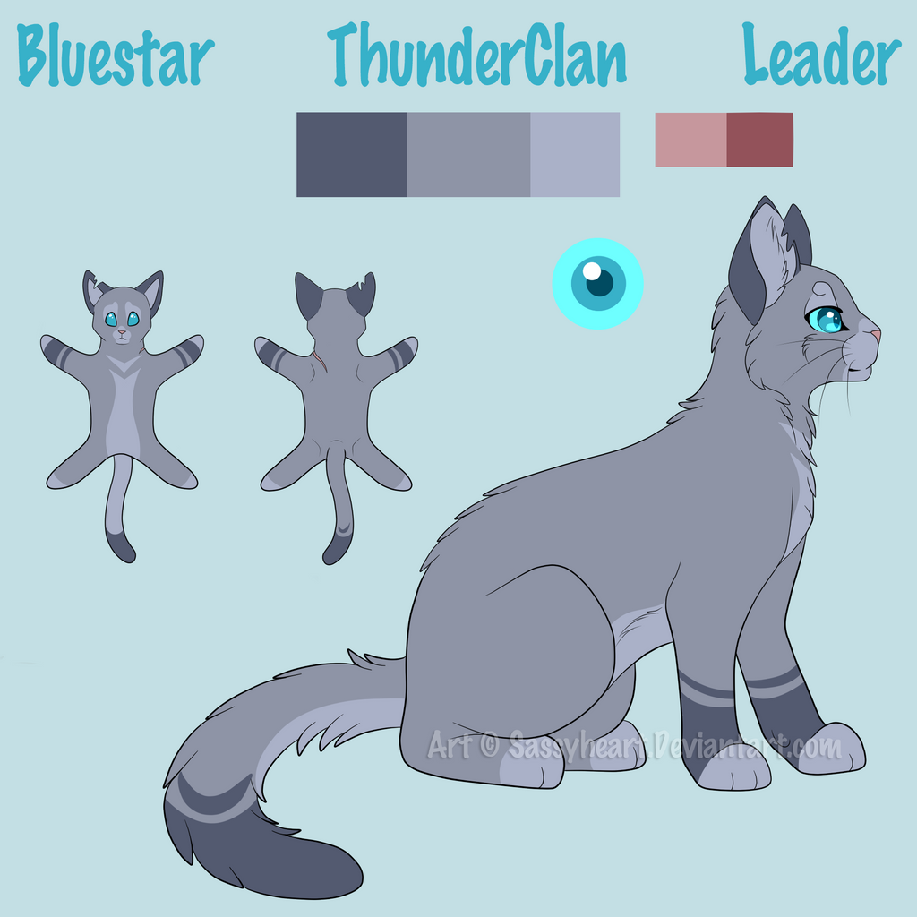 Warrior Cats Kit To Leader Bloodclan: Bluefur Got Their Homepage At Neopets.com