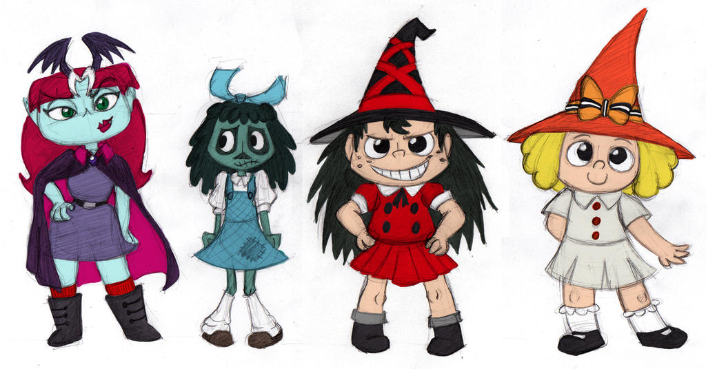 Creepy Crazy Koooky Spooky by Cattype