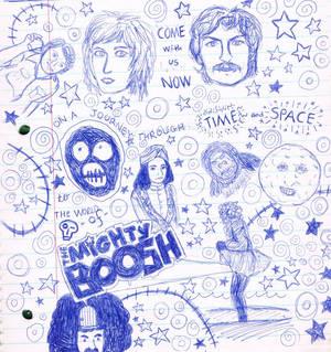 Mighty Boosh Doodles