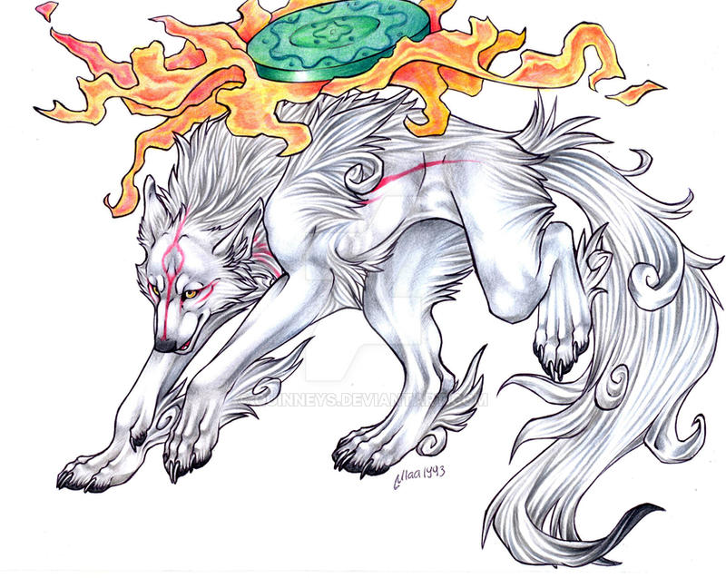 Amaterasu by Quinneys