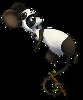 Panda Mouse by Vullo
