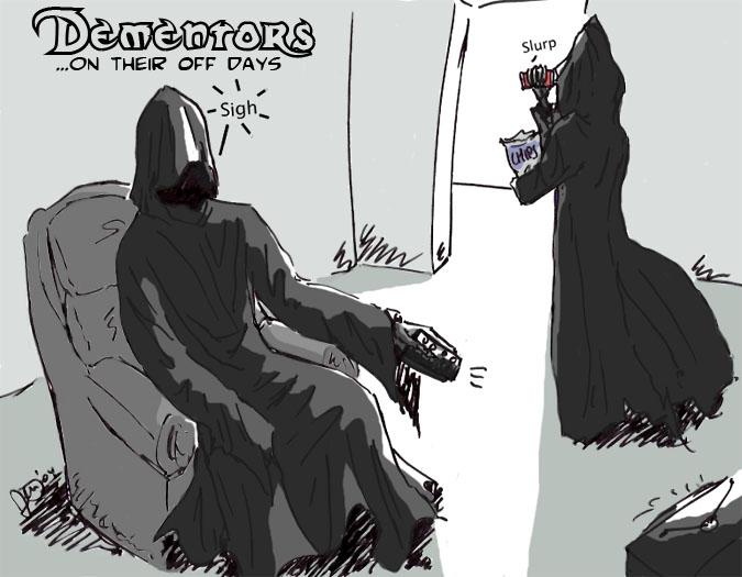 Dementors on their off days