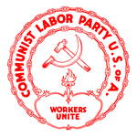 Communist Labor Party of America Logo Red
