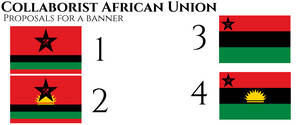 Banners of a Collaborist African Union
