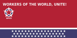Workers Party of the United States flag