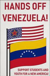 Hands off Venezuela! by Strigon85