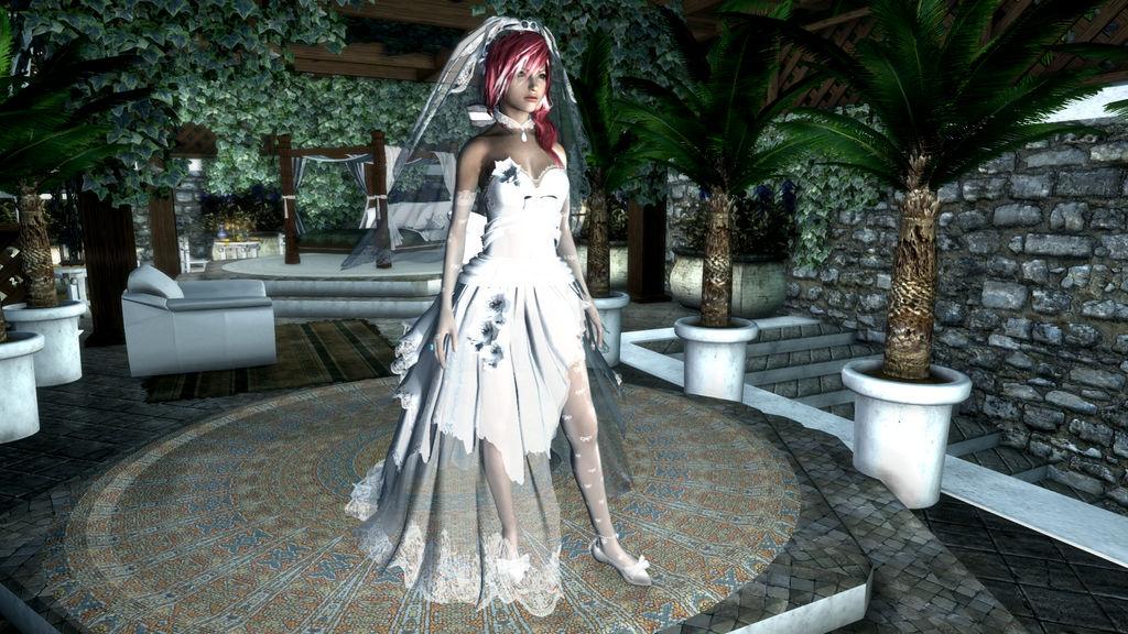 Skyrim Wedding Dress.Lightning Wedding Dress Skyrimse By Yakuangel0621 On Deviantart