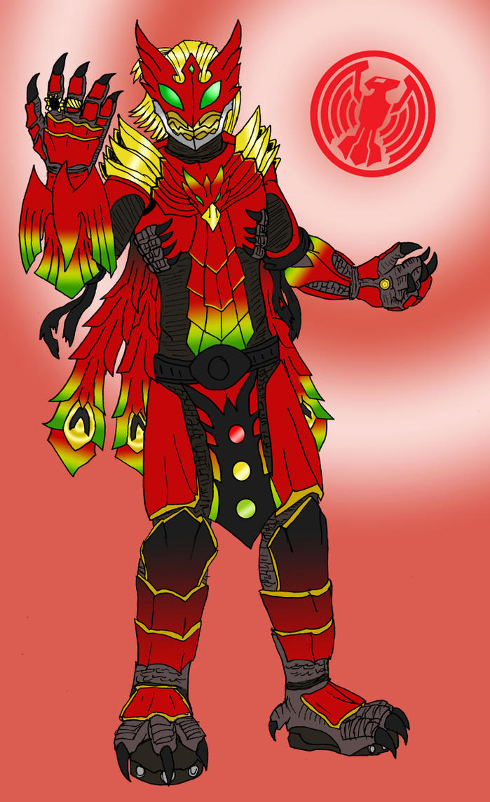 Kamen Rider OOO  Ankh by FlamedramonX20Kamen Rider Ooo Ankh