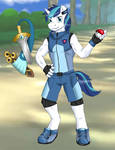 You are challenged by Ace Trainer Shining Armor!