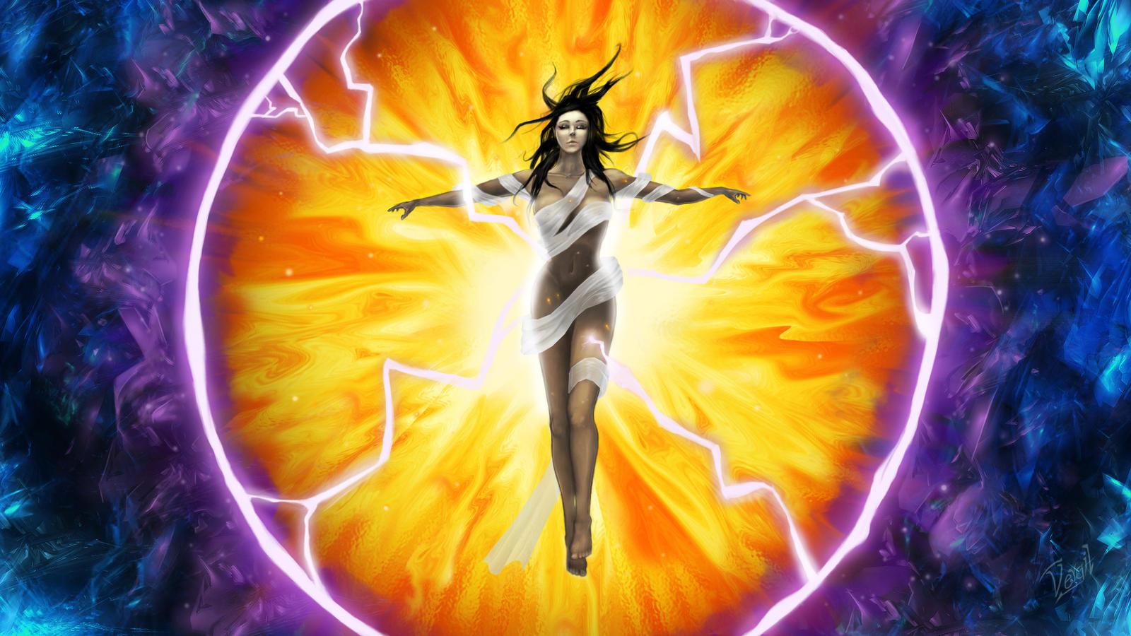 Holisticocromocaio prote o energ tica pessoal como se - Energias positivas y negativas ...