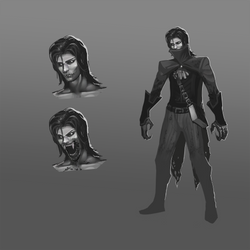Game Character Concept - Main Character by Vergil93