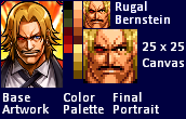 Rugal - Small Portrait by walterfast