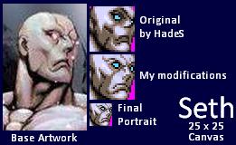Seth - Small Portrait by walterfast