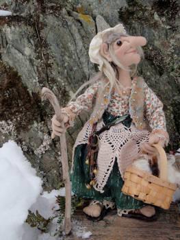 Abby, Gathering Wool